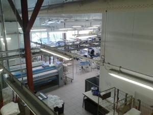 vente - installation matériel de blanchisserie